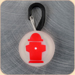 LED Collar Light--red hydrant