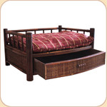 Bamboo Drawer Bed