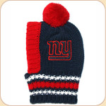 NY Giants--NFL Knit Tassel Hat