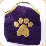 Peace Tag Cover--Purple
