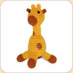 Crocheted Goldie Giraffe