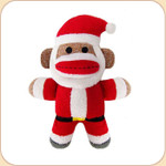 Jolly Baby Sock Monkey