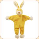 Yellow Bunny--Stuffless Toy