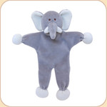 Grey Elephant--Stuffless Toy