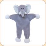 Grey Elephant--Stuffless Toy