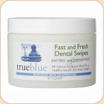 True Blue Fast & Fresh Dental Swipes