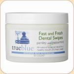 True Blue Fast & Fresh Dental Swipes