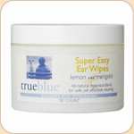 True Blue Super Easy Ear Wipes