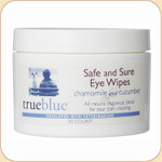 True Blue Safe & Sure Eye Wipes