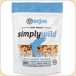 Sojos Simply Wild Salmon--Freeze-Dried Treats