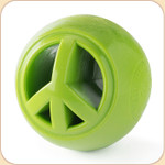 Orbee Treat Nook Ball Toy--Peace