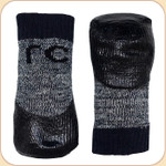 Non-Slip Sport Socks in Charcoal--x4