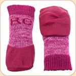 Non-Slip Sport Socks in Pink--x4