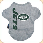 Team T shirt--Jets gray