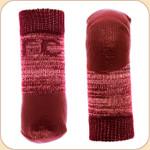 Non-Slip Sport Socks in Red--x4