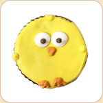 Li'l Round Chick Cookie