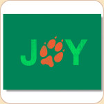 JOY Pawprint Card