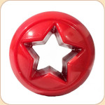 Orbee Treat Nook Ball Toy--Red Star