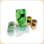 Pet Waste Bag Dispenser--Bone or Pill 