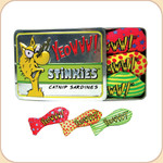 Catnip Single Stinkie or Sardine Tin with 3 Stinkies