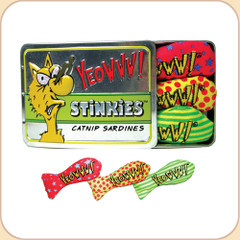 The Stinkie Tin contains 3 stinkies.