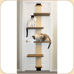 Sisal Scratching Door Climber & Perches