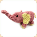 Crocheted Elephant