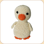 Crocheted Ducky