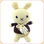 Crocheted Vanilla Bunny
