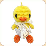 Crocheted Chick in Egg