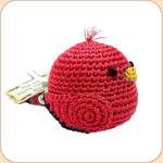 Crocheted Red Birdie