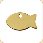 Flat Brass Fish