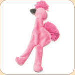 Flat Pink Flamingo