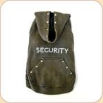 SECURITY Sleeveless Hoodie--Stonewashed