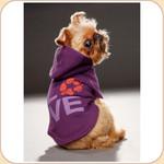 LOVE Purple Charity Hoodie