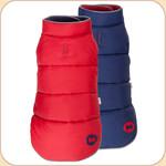 Puffer Reversible Coat Navy & Red