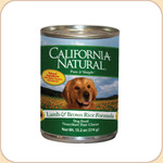 California Natural Lamb & Brown Rice Formula (Canned)
