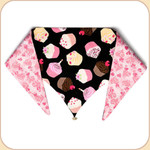 Birthday Cupcake Reversible Bandana