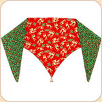 Reindeer Red Reversible Bandana