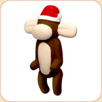 Santa Balloon Monkey