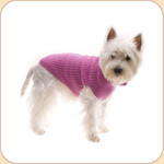 Pure Wool Pink Cable Sweater