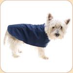 Lined Waterproof Blue Raincoat