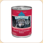 Blue Buffalo Wilderness Salmon &amp; Chicken Grill (Canned)
