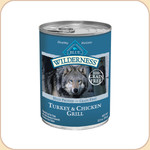 Blue Buffalo Wilderness Turkey &amp; Chicken Grill (Canned)