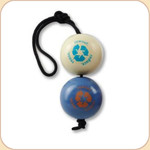 Orbee Tuff RecycleBall 2 Balls-On-A-Rope