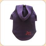 SPUNKY DOG EMBLEM Purple Hoodie