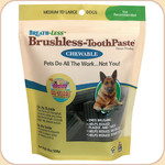 Ark Naturals Brushless Toothpaste Treats--M/L