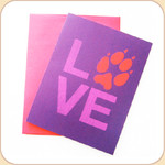 LOVE in Purple Card