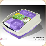 Van Ness Framed Litter Pan & Starter Kit--Large