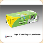 Van Ness Litter Pan Drawstring Liners--Large